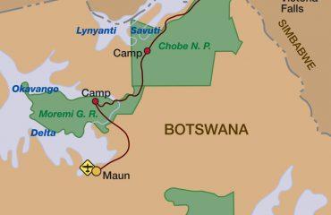2018_Botswana-und-Viktoriafälle-intensiv-Karte