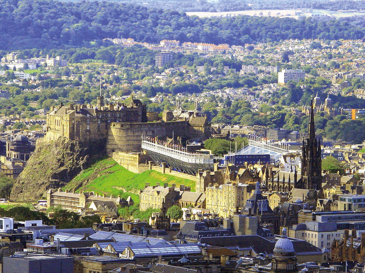 Edinburgh - 6 Tage Schottland - The Royal Military Edinburgh Tattoo