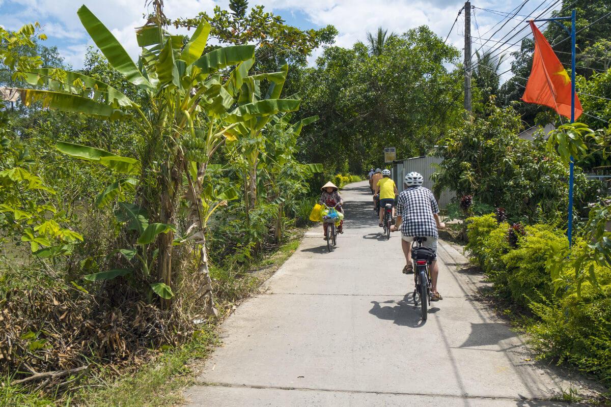 Radfahren im Mekong Delta Tom Andersch - Vietnam mit allen Sinnen genießen