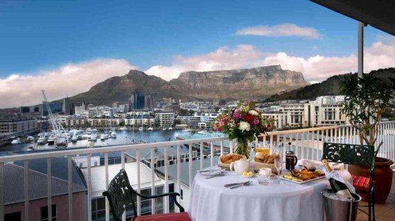 Blick von Ihrer Hotelterrasse in Kapstadt - Bookphoto