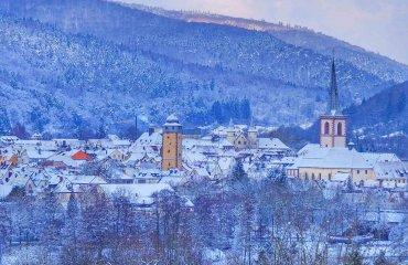 Lohr a.Main im Winter - Touristinfo Lohr