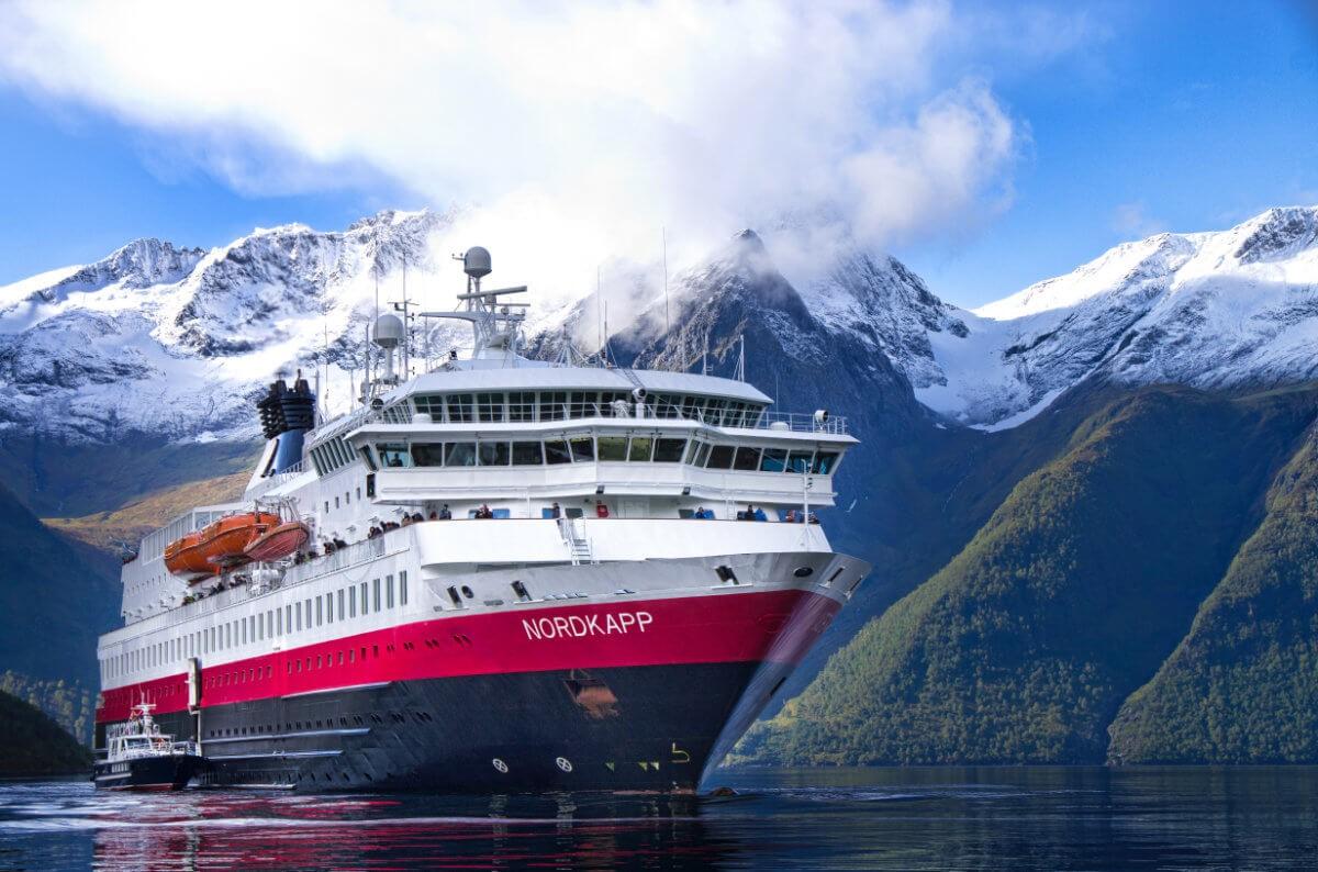 MS Nordkapp Hjorundfjord Norway HGR 09931 - Hurtigruten Postschiffreise Norwegen 2021