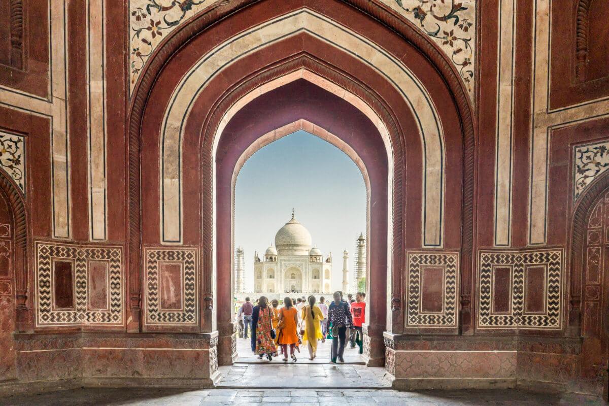 shutterstock 531855499 Taj Mahal - Indien – Glanzlichter Rajasthans