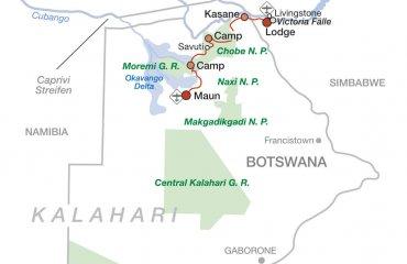 2020 Abenteuer Botswana