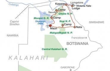 2020 Botswana und Viktoriafälle hautnah