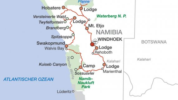 2020 Namibia hautnah