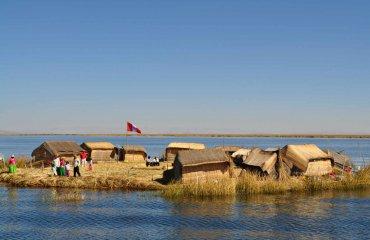 Titicacasee Schwimmende Inseln Fotolia