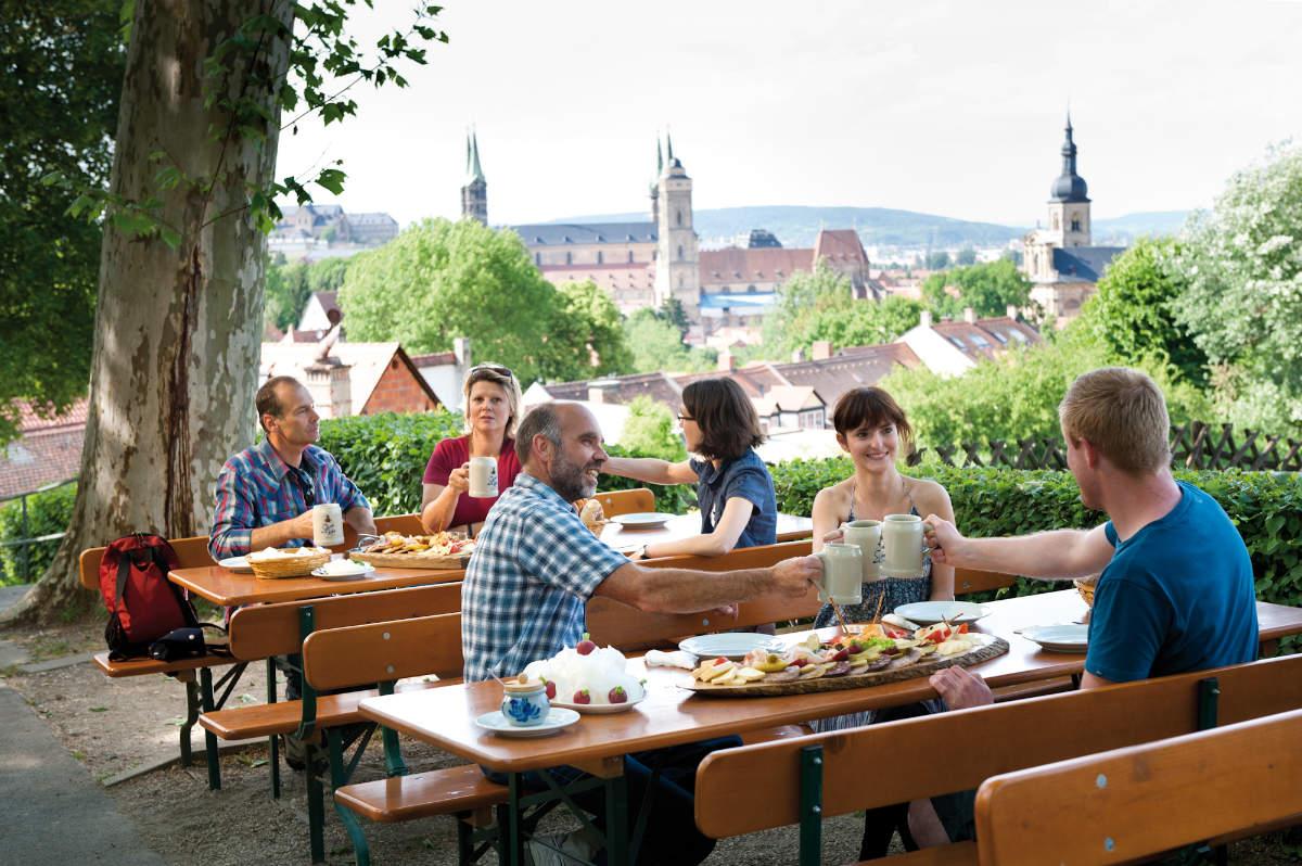 Bamberg Auf dem Spezial Keller - Genussreise im Land der Franken